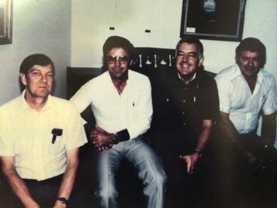 (Pictured) Jake Triplett, Bill Parker, Bob Withers & Carl Streuser